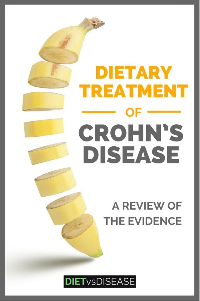 There is a lot of misinformation online about treating Crohn's disease. This article takes a science-based look at what diet changes might actually work. Learn more here: http://www.DietvsDisease.org/crohns-disease-diet-treatment/