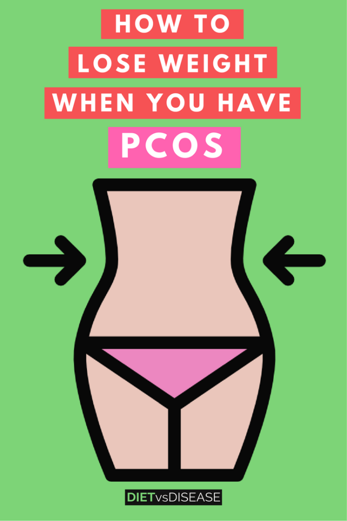 Lose weight PCOS