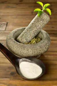 Stevia as a sugar alternative