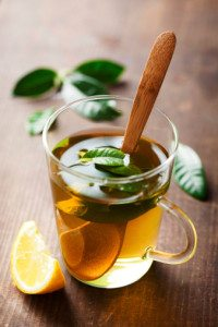 Green tea improves blood flow and pressure