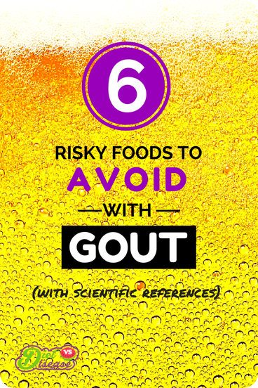 6 risky foods to avoid with gout