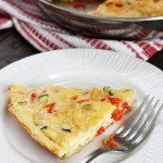 Caramelized-Onion,-Red-Pepper-and-Zucchini-Frittata