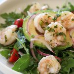 Shrimp Ceviche and Avocado Salad-2