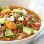 Slow Cooker Paleo Jalapeno Popper Chicken Chili