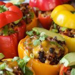 Southwestern-Turkey-Quinoa-Stuffed-Peppers-3