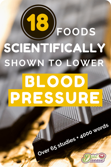 18 Foods Scientifically Shown to Lower Blood Pressure: Over 65 studies and 4000 words