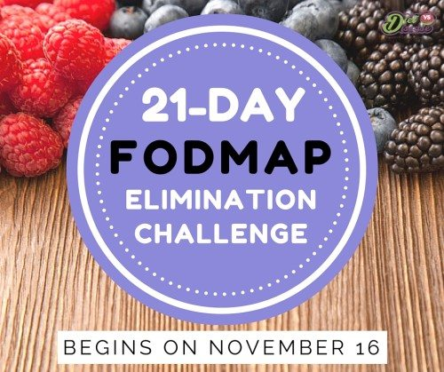 21-DAY LOW FODMAP CHALLENGE