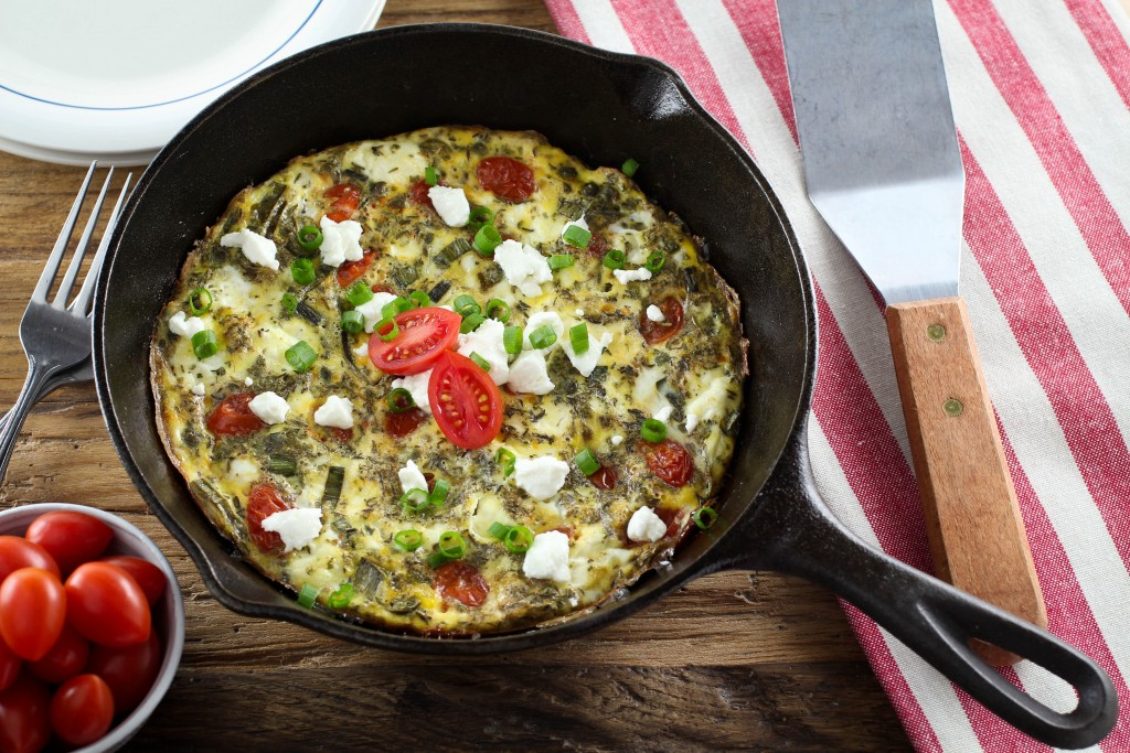 low-fodmap-tomato-and-leek-frittata