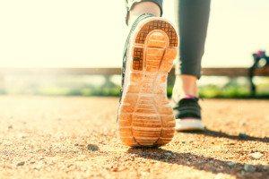 Take regular walks or start lifting weights each week