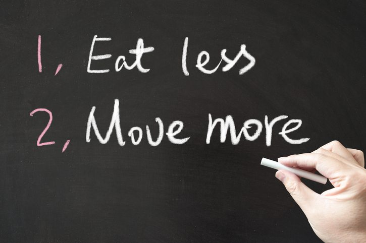 Eat less and move more hypothyroidism