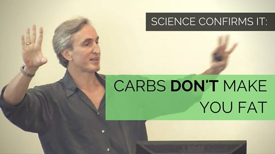 Gary Taubes full of it- CARBS DONT MAKE YOU FAT