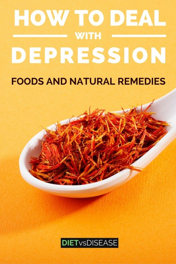 How to deal with major depression foods and natural remedies