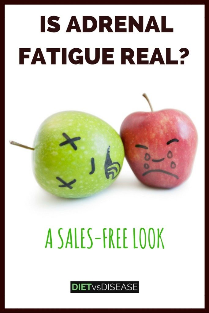 Adrenal fatigue refers to a cluster of common symptoms one might experience when under stress. But is it even real? This article looks at the facts: https://www.dietvsdisease.org/adrenal-fatigue-real/