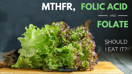 MTHFR folic acid and folate