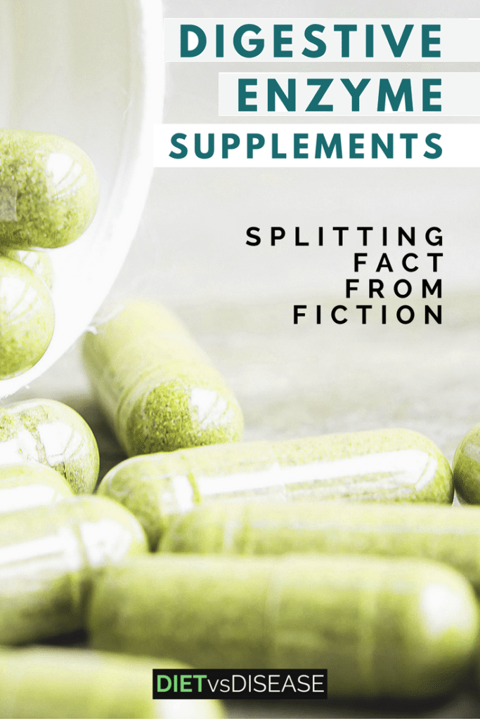 Some lack the enzymes required to digest specific foods. This article is a sales-free look what conditions may benefit from digestive enzyme supplements. Learn more here: https://www.dietvsdisease.org/digestive-enzyme-supplements/