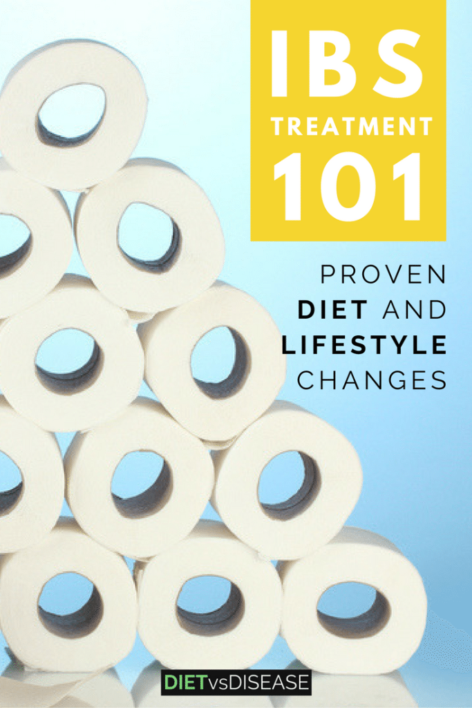 IBS causes digestive issues and serious stress and anxiety. This article looks at the scientifically-proven diet and lifestyle changes for IBS treatment. Learn more here: https://www.dietvsdisease.org/ibs-treatment-diet/