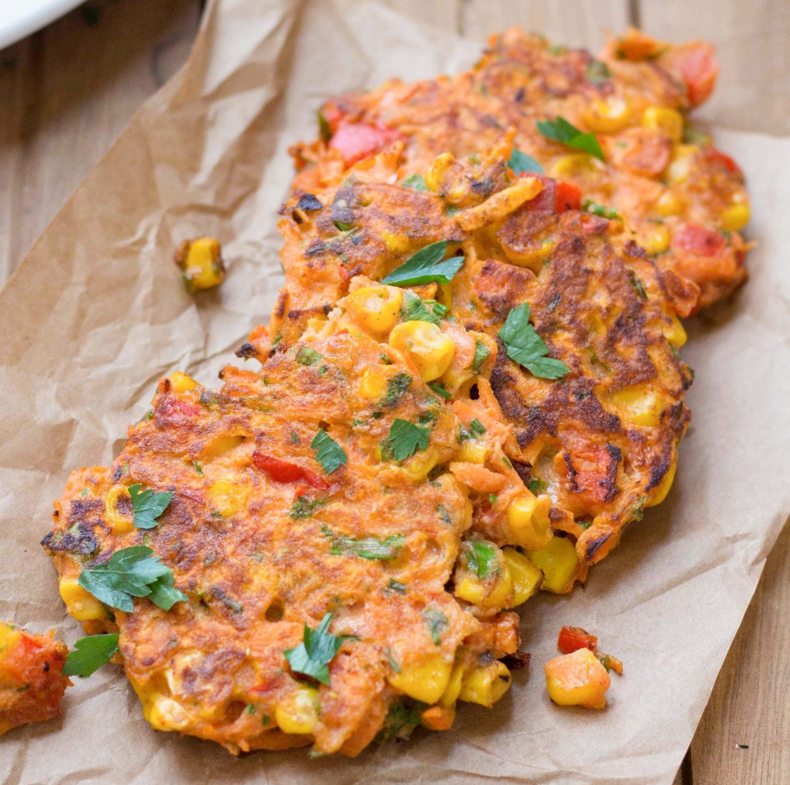 Low-FODMAP-Carrot-And-Corn-Fritters