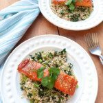 maple-marinated-salmon-with-sesame-spinach-rice-low-fodmap