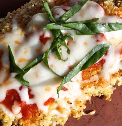 Quinoa-crusted-chicken