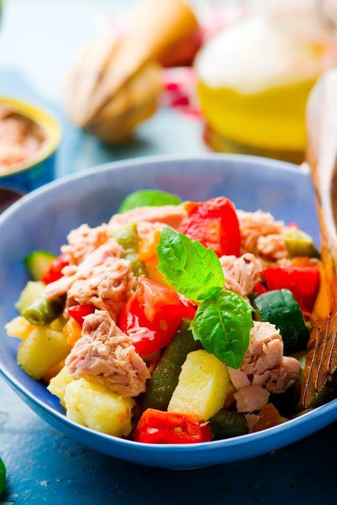 Genoa Salad with Tuna