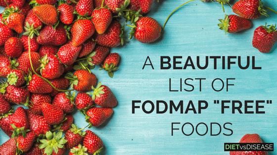 FODMAP FREE FOODS LIST (1)