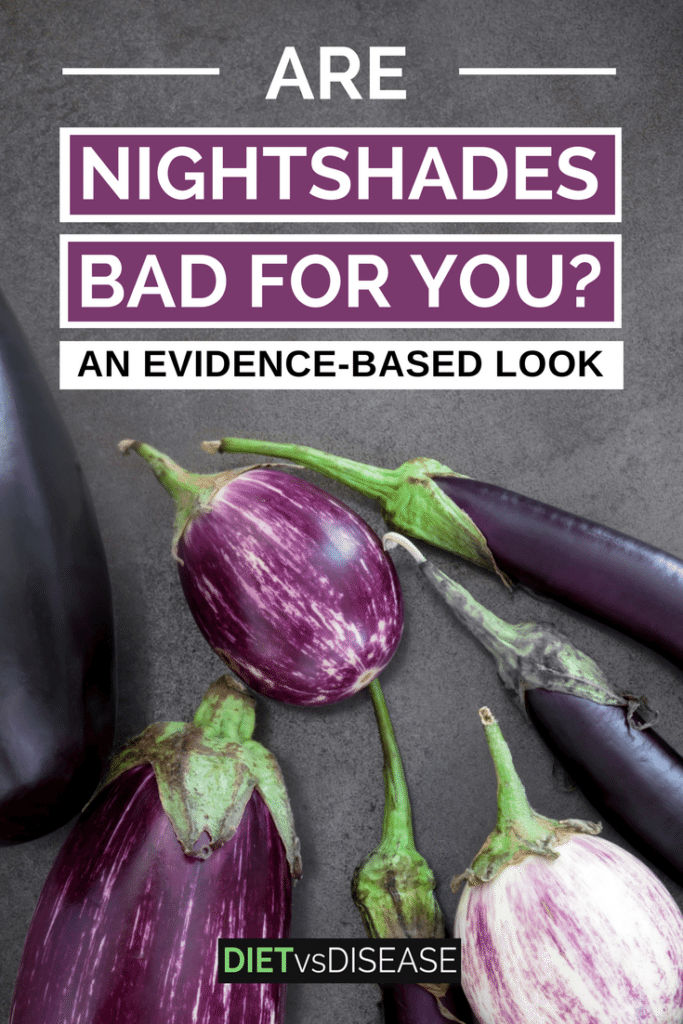 Many argue that nightshade vegetables causes various health issues. But are they actually unhealthy to eat? This article explores the current research. Learn more here: https://www.dietvsdisease.org/nightshade-vegetables/