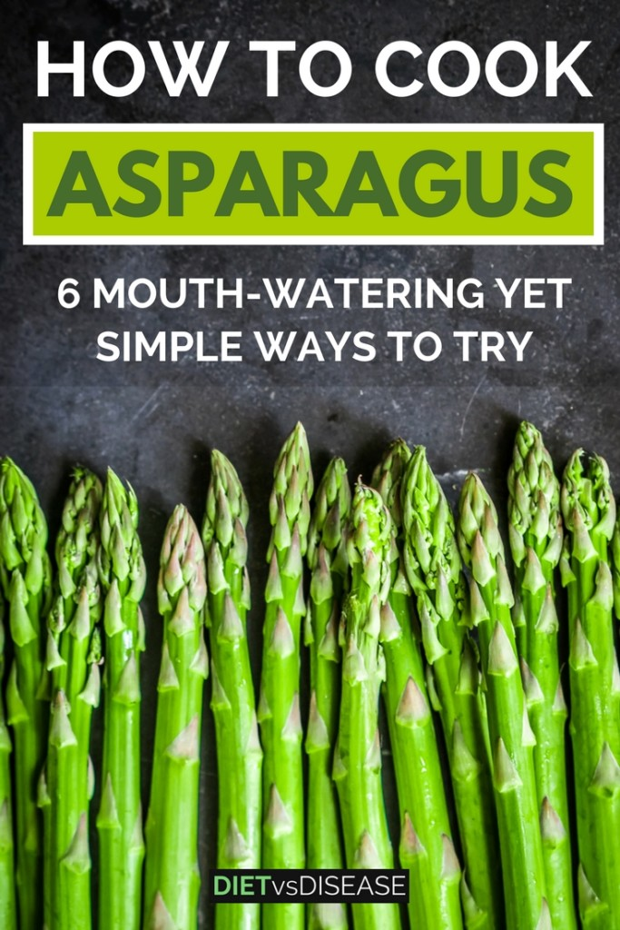 Asparagus is a delicious and popular vegetable. But how on earth do you cook it? This article looks at how to cook asparagus in 6 simple ways