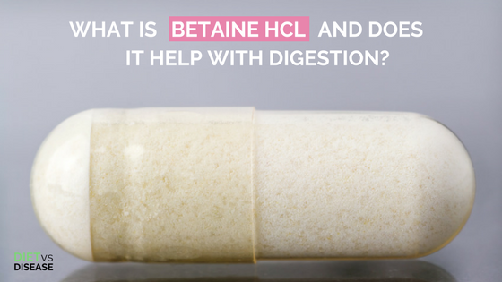 What is betaine HCL