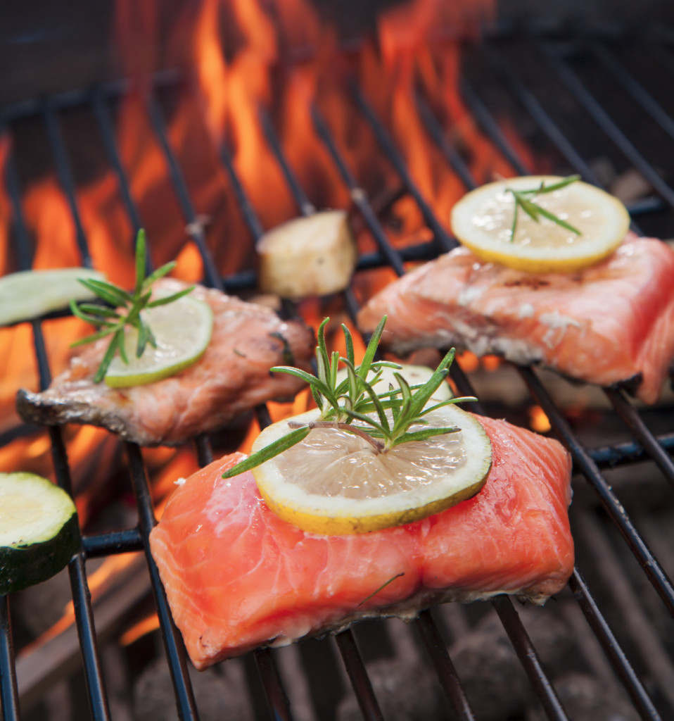 Cook Grilled Salmon