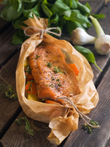 Cook Steamed Salmon