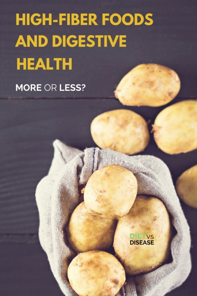 High-Fiber Foods and Digestive Health More or Less? 1