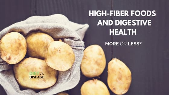 High-Fiber Foods and Digestive Health More or Less?