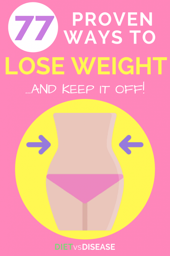 77 Ways To Lose Weight And Keep It Off pinterest