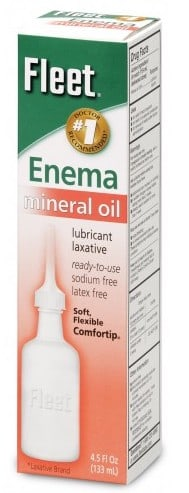Lubricant Laxatives