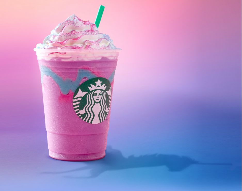 unicorn coffee is high in sugar and calories