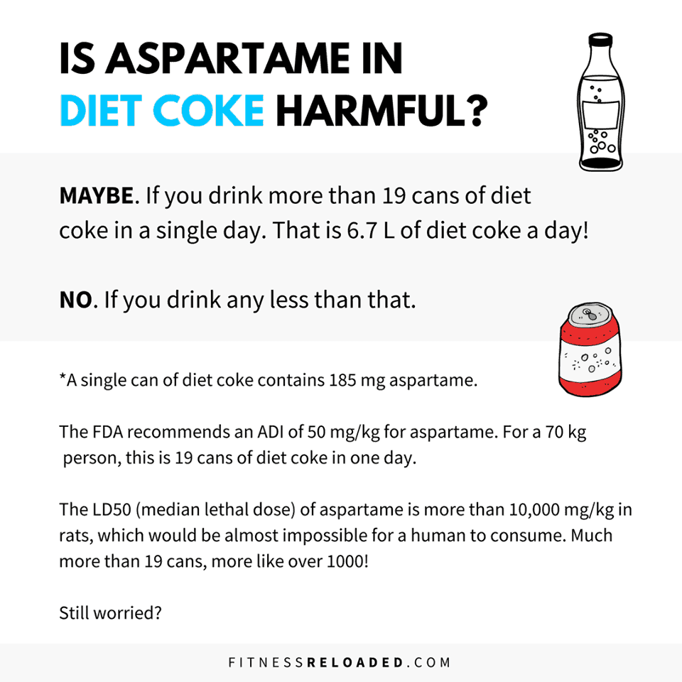 "Aspartame and Other ""Toxic"" Ingredients Are Safe"