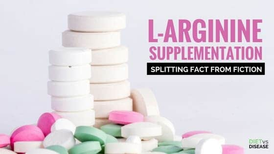 L-Arginine Supplementation Splitting Fact from Fiction