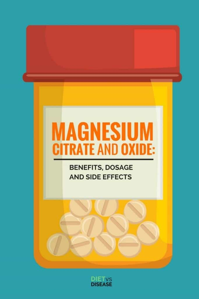 Magnesium Citrate and Oxide- Benefits, Dosage and Side Effects Pin
