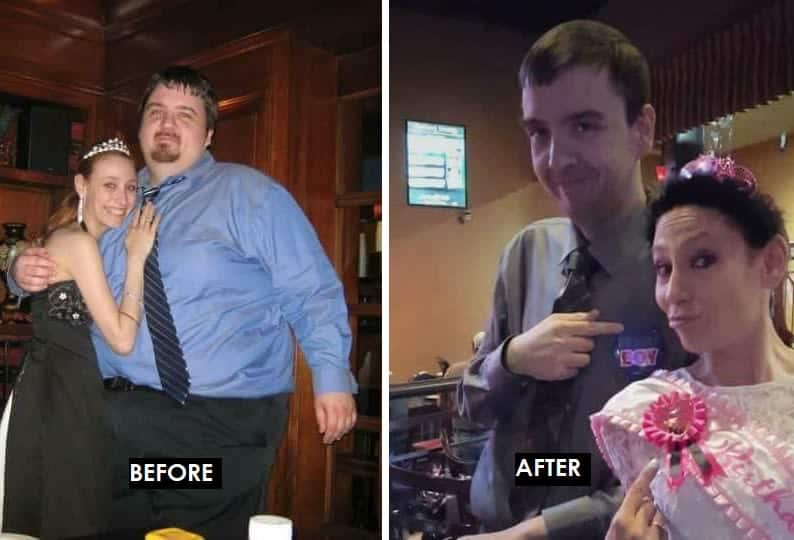 nate- weight loss before and after