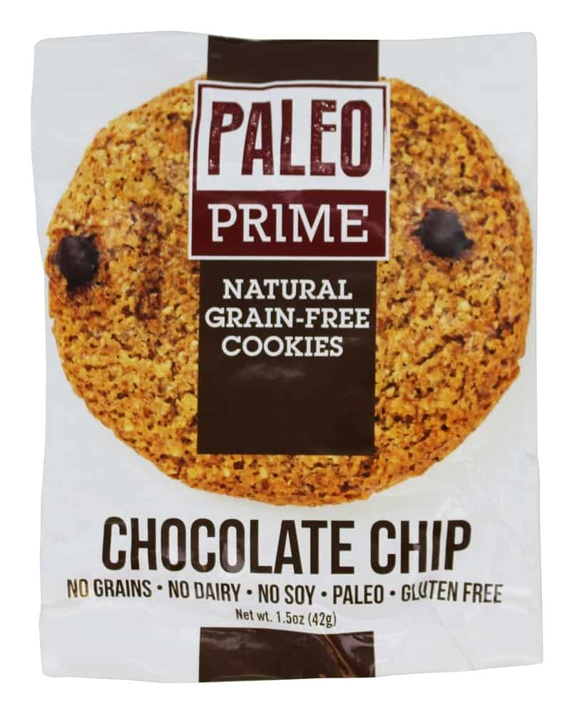 paleo choc chip cookie