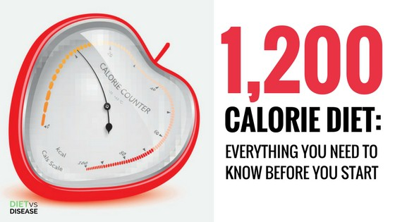 WARNING: Don't Start a 1200 Calorie Diet Plan Until You Read