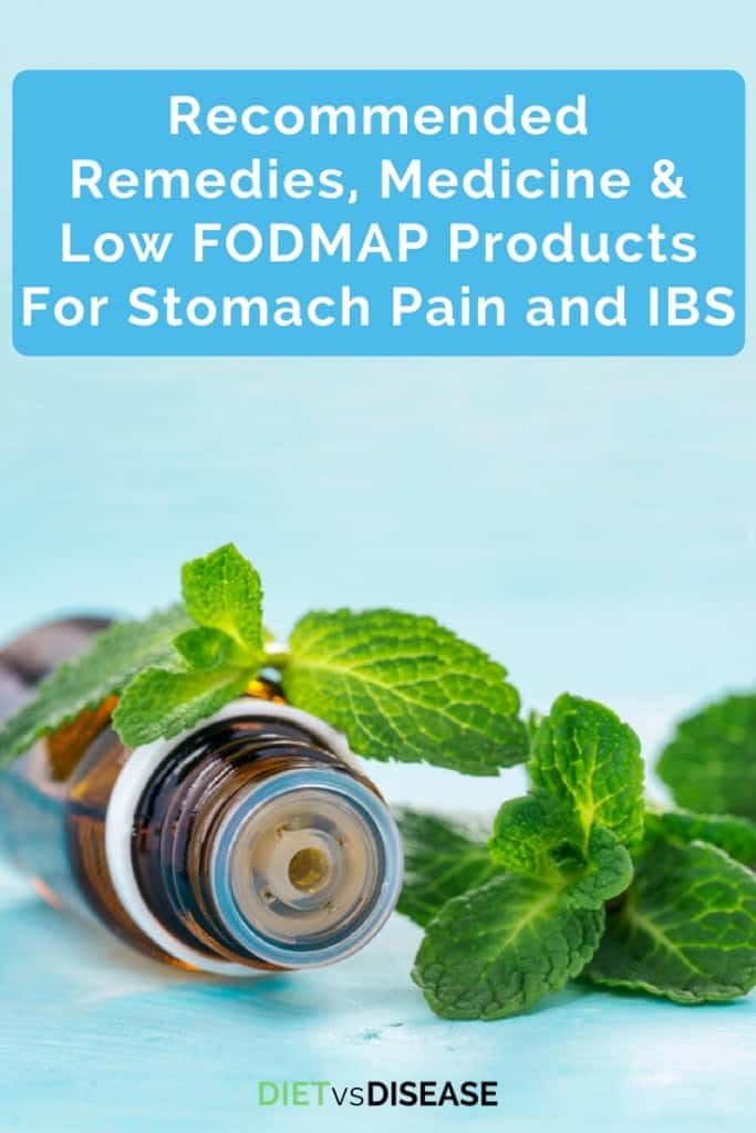 Best Remedies, Medicine, & Low FODMAP Products For Stomach Pain and IBS- tall