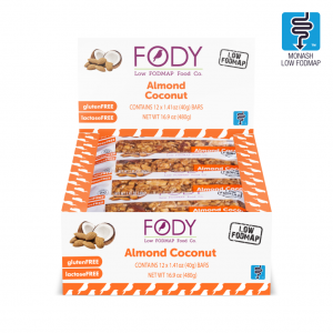 FODY Almond Coconut Bars