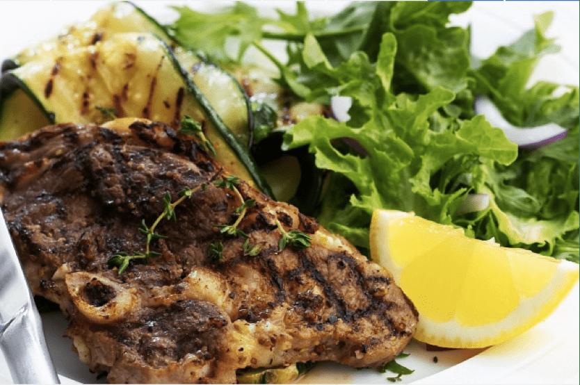 Lemon and Thyme Marinated BBQ Lamb