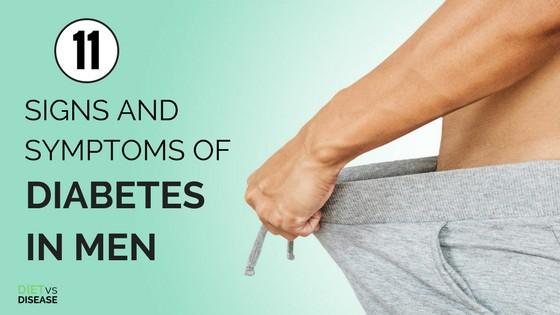 11 troubling symptoms of diabetes in men don\u0027t ignore them any11 troubling symptoms of diabetes in men don\u0027t ignore them any longer diet vs disease