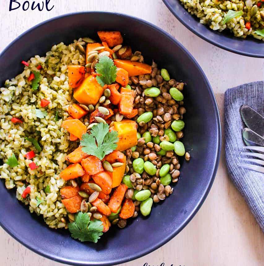 Vegan Nourishing Bowl 1