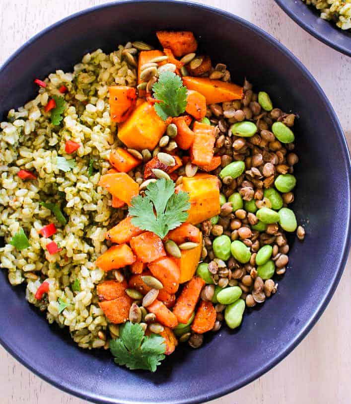 Vegan nourishing bowl 2