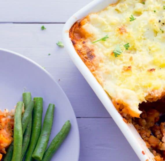 Vegan shepherd's pie  2
