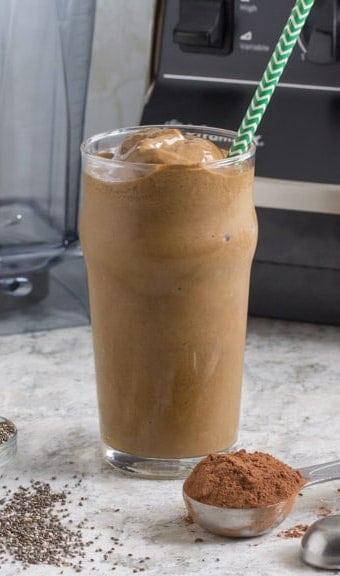 Mocha Banana Smoothie