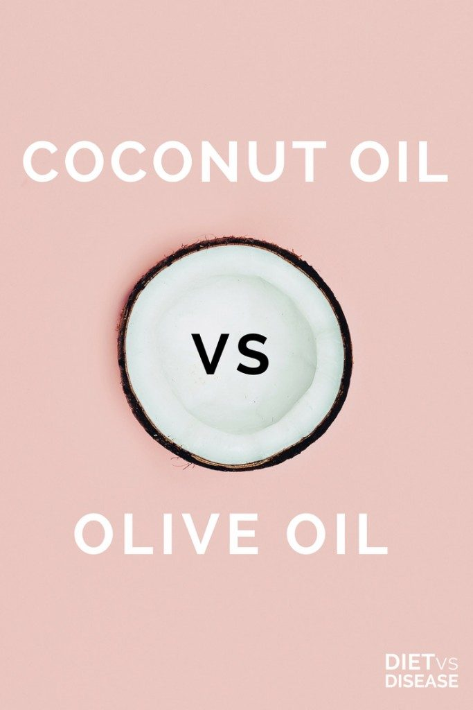 Coconut Oil vs Olive Oil vs Canola Oil pinterest